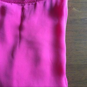 WHBM flutter-sleeve blouse in silk